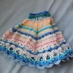 Baby Poncho/Jacket Mandala Style