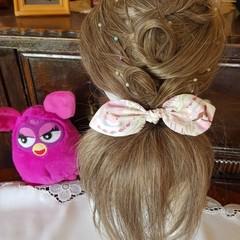 """Mermaid"" Girls Hair Bow Elastic"