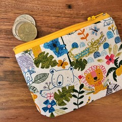 Coin purse - Jungle