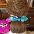 """""""Fairy"""" Girls Hair Bow Elastic"""