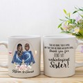 Best Friend Personalised Mug, Unbiological sister,  Soul Sister Mug, BFF Gift