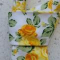 Mens tie - Yellow roses