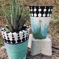 Handmade Concrete Vases