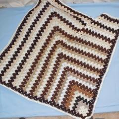 Baby Blanket/Wrap/Bunny Rug and Booties