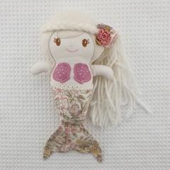 Amber Mermaid Doll