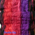 Stripe and texture Scarf