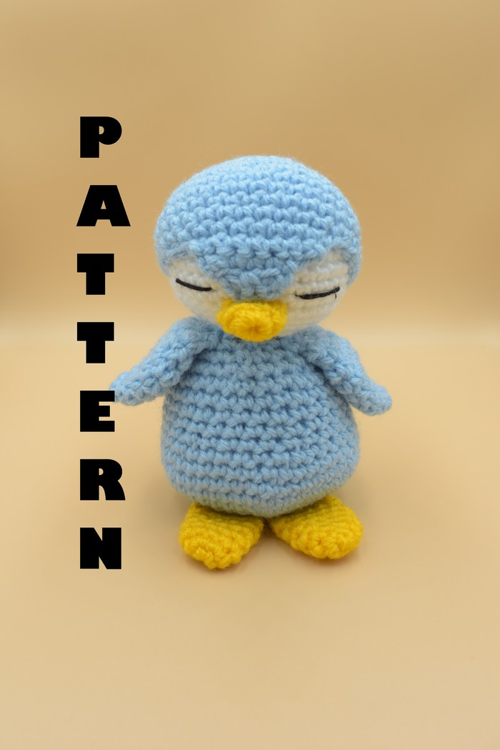 Amigurumi Penguin - A Free Crochet Pattern - Grace and Yarn   1050x700