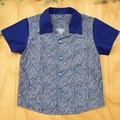 Crazy Paisley - Boy's Button up Shirt - Size 4