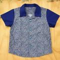 Crazy Paisley - Boy's Button up Shirt - Size 4