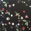 Ladies custom made 6-gore flip printed Stretch Woven Cotton Sateen Skirt-Pge 2/4