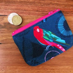 Coin purse - King Parrot