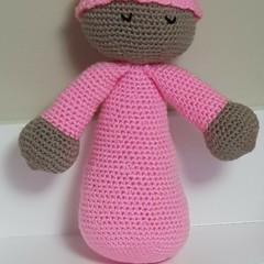 Sleepyhead Crocheted Snuggle Baby Doll Toy
