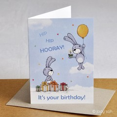 It's your birthday! - Greeting Card