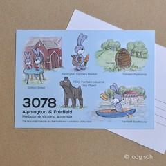 Postcode 3078, VIC - Postcard