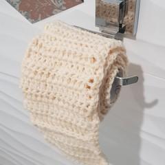 Crocheted Toilet Paper - joke gift