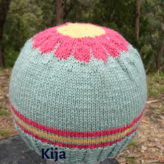 Woollen knit hat