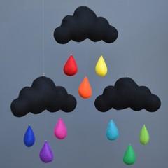 Cloud trio (Stormy)