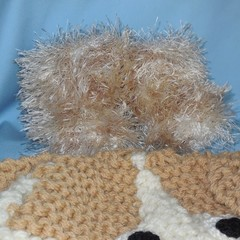 Baby Beanie, Dog Character and Faux Fur Booties