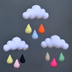 Cloud trio (multicolour)