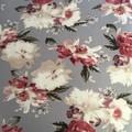 Ladies custom made 6-gore flip printed Stretch Woven Cotton Sateen Skirt-Pge 3/4