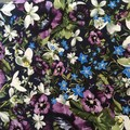 Ladies custom made 6-gore flip printed Stretch Woven Cotton Sateen Skirt-Pge 1/4