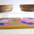 RESIN MINI JAR & TRAY SET & Free Spice Labels Gift Idea's