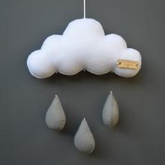 Small rain cloud (Grey)
