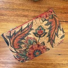 Cork Pouch - Flowers