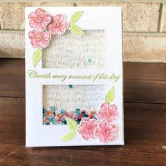 Cherish Shaker Card