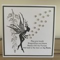Sprinkling of Magic. Handmade card