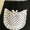 Black & White Elegant Lace FREE POST!