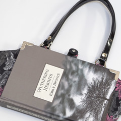 Wuthering Heights Novel Bag - Emily Bronte - Upcycled book - Bag made from a boo