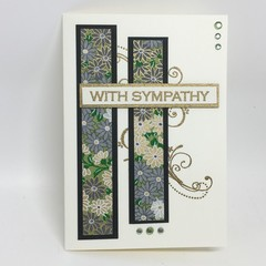 Sympathy Card - Japanese Paper, selection