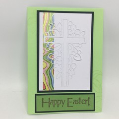 Easter Card - Decorated Cross