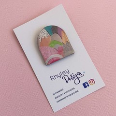 Bright Mountains Arch Brooch