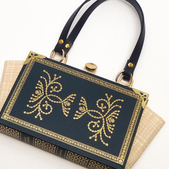 A Treasury of Sherlock Holmes - Sir Arthur Conan Doyle - bag made from a book