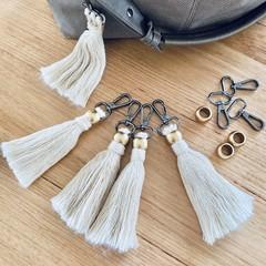 Keyring/bag tassel