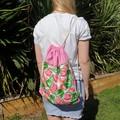 Watermelon Drawstring Bag