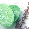 Herbal Mint Salt Soap Bar