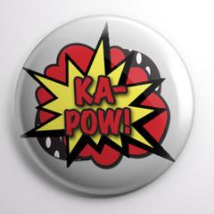 KA - POW  58 mm badges or magnets