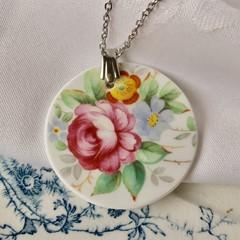 Tuscan Rose  pendant