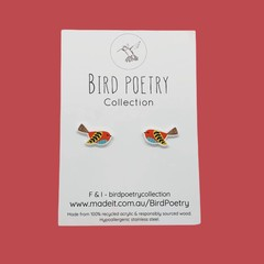 Cute Bird Stud Earrings