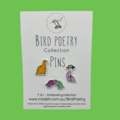 Cute Dinosaur Love Pins - Trio Pack