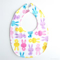 BUY 3 GET 4th FREE Bunny Rabbit Bib Easter