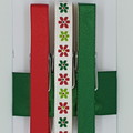 Red & Green peg magnet