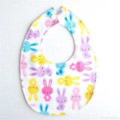 BUY 3 GET 4th FREE Bunny Rabbit Bib Easter