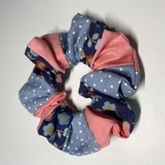 Patchwork scrunchie