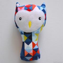 Geo Owl Rattle