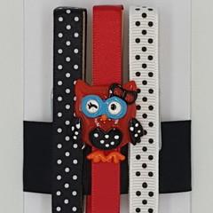 Owl peg magnet