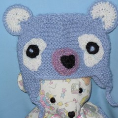 Soft Toy Teddy Bear and Teddy Bear Hat